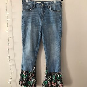 Vintage hand-sewn jeans